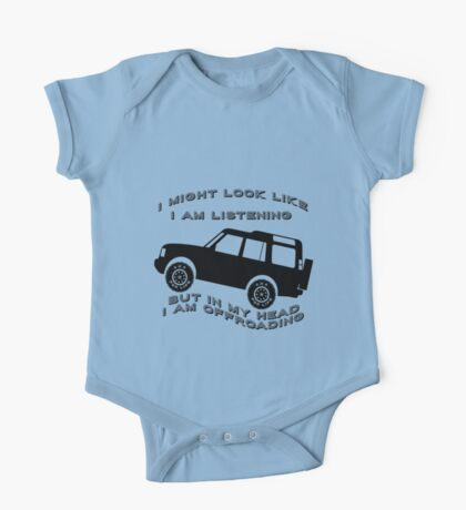 Listening but Off-Road One Piece - Short Sleeve