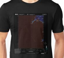USGS TOPO Map Alaska AK Craig B-6 355278 2000 63360 Inverted Unisex T-Shirt