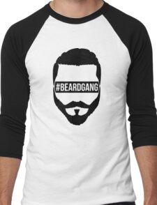 #BeardGang Half Beard Men's Baseball ¾ T-Shirt