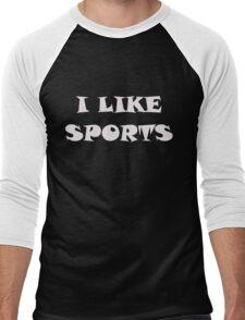 I Like Sports Men's Baseball ¾ T-Shirt
