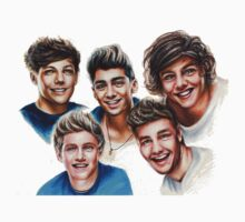 1D stylized face by vitto00