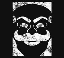 F-Society Mask - White Splattered (on black) Unisex T-Shirt