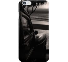 Ford Woody at the Beach iPhone Case/Skin