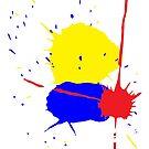 Splatter 1 by Michael Birchmore