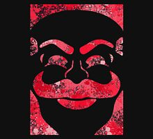 F-Society Mask - Red Splattered (on black) Unisex T-Shirt