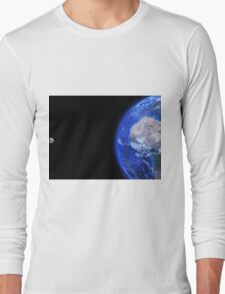 Moon and Earth Long Sleeve T-Shirt