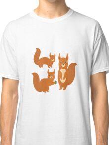Fluffy Squirrels Classic T-Shirt