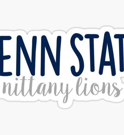 Penn State University Sticker