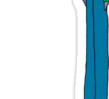 Tall Pigeon T Shirt Sticker