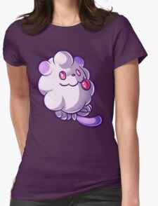 Pastel Swirlix Womens Fitted T-Shirt