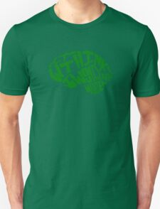 Why think? I would rather wonder. *GREEN* Unisex T-Shirt
