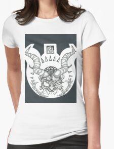 Natural Born BadAss Womens Fitted T-Shirt