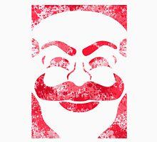 F-Society Mask - Red Splattered (on white) Unisex T-Shirt