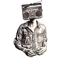 Radio-Head Photographic Print