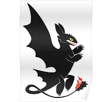 Toothless Heraldry Poster