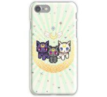 Sailor Cats - Green iPhone Case/Skin