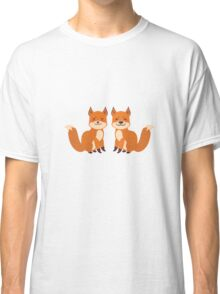 Cute Foxes Classic T-Shirt