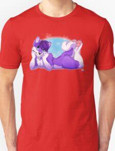 Purple Husky  T-Shirt