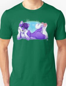 Purple Husky  T-Shirt
