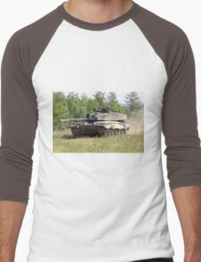 British Army Challenger 2 Main Battle Tank Men's Baseball ¾ T-Shirt
