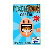 Pixel Crunch Cereal Art Print