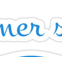 Karma Sees Calmer Seas Sticker