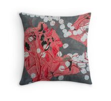 Bulbus olfactorium Throw Pillow