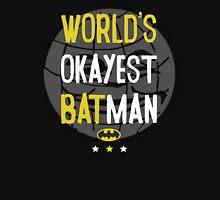World's okayest batman funny cartoon cool retro shirts and clothing design Unisex T-Shirt