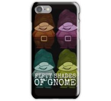50 Shades Of Gnome iPhone Case/Skin
