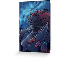 Zoroark Greeting Card