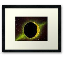Shining Moon Framed Print