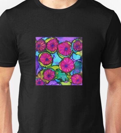 Basket of Petunias Unisex T-Shirt