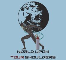 Atlas; World Upon Your Shoulders by BurrowsImages