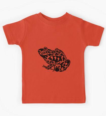 Tribal Frog Kids Tee