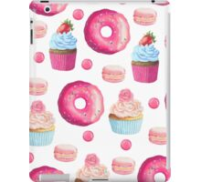 Pink Strawberry Sweets & Treats iPad Case/Skin
