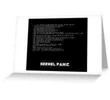 Mr Robot - Kernel Panic Greeting Card