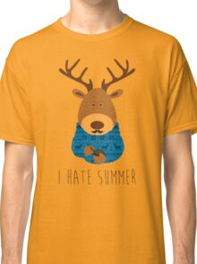 I hate summer Classic T-Shirt