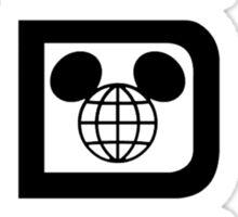 WDWTallBlack Sticker
