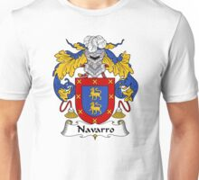 Navarro Coat of Arms/Family Crest Unisex T-Shirt