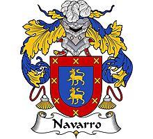 Navarro Coat of Arms/Family Crest Photographic Print