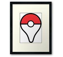 pokemon go plus cute  Framed Print