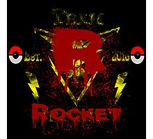 Team Rocket (Instinct) Photographic Print