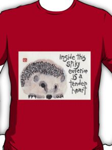 Tender Heart Hedgehog T-Shirt
