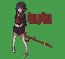 Ryuko Matoi - Low Poly - Kill La Kill Kids Clothes