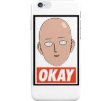 punch ok iPhone Case/Skin