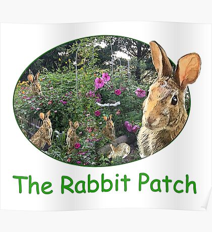 The Rabbit Patch Poster