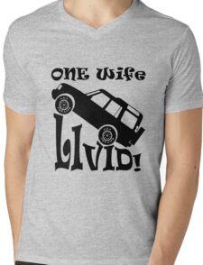 One Life Live It (Parody) Mens V-Neck T-Shirt