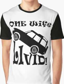 One Life Live It (Parody) Graphic T-Shirt