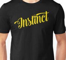 Team Instinct: Yellow Typography Unisex T-Shirt