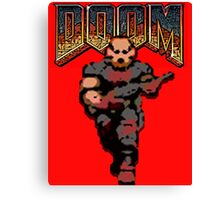 Doom Game Canvas Print